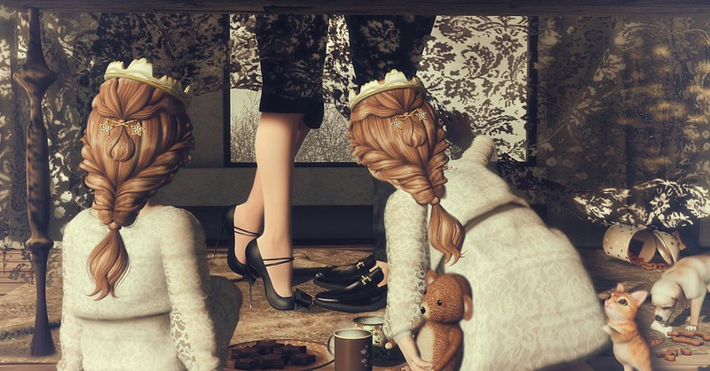 Amelie et les petites: A moment in time