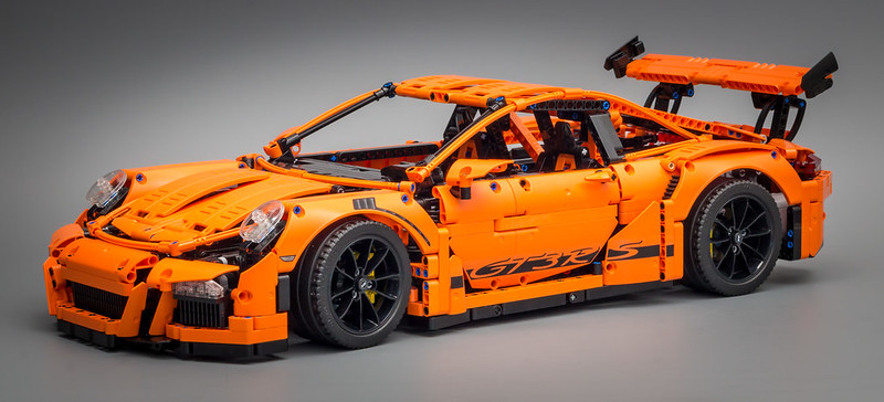 42056 - Porsche GT3 RS - Custom Stickers