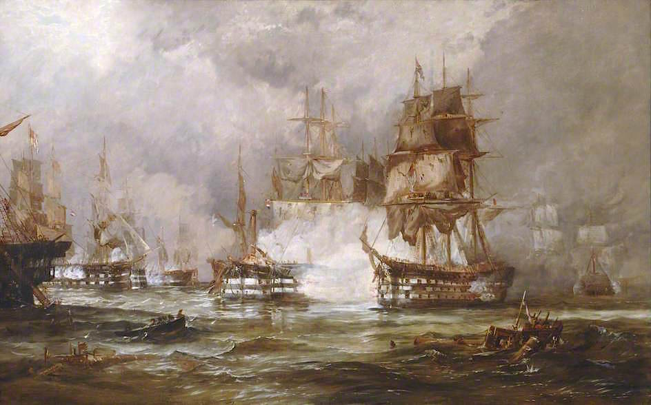 Trafalgar by George Chambers, Jr