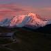 """""""Couchant automnal sur le Mont-Blanc"""". Haute-Savoie, France. by Raphaël Grinevald • Photographe"""