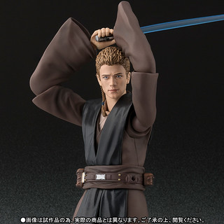 S.H.Figuarts【安納金.天行者】星際大戰二部曲:複製人全面進攻 Anakin Skywalker