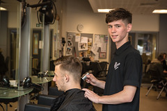 Casper Zasada Barbering VRQ Certification Level 2