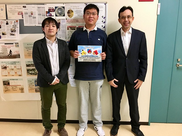Harada, Jiang, and Thawonmas with the winning certificate