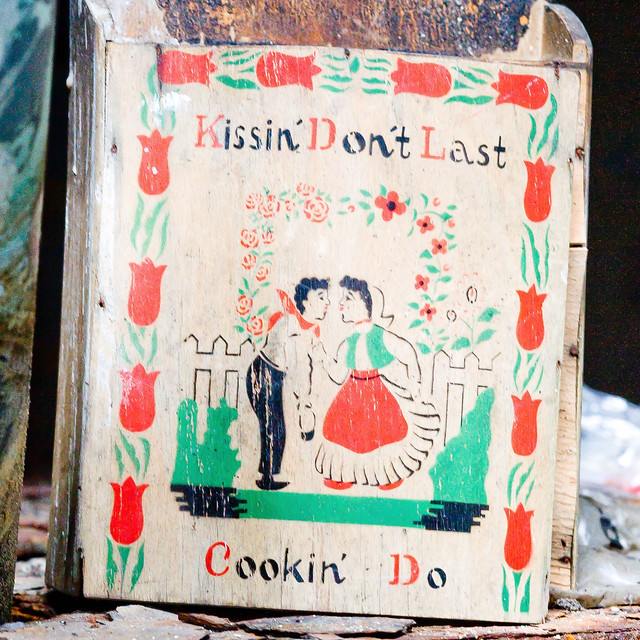 Kissin' Don't Last, Cookin' Do