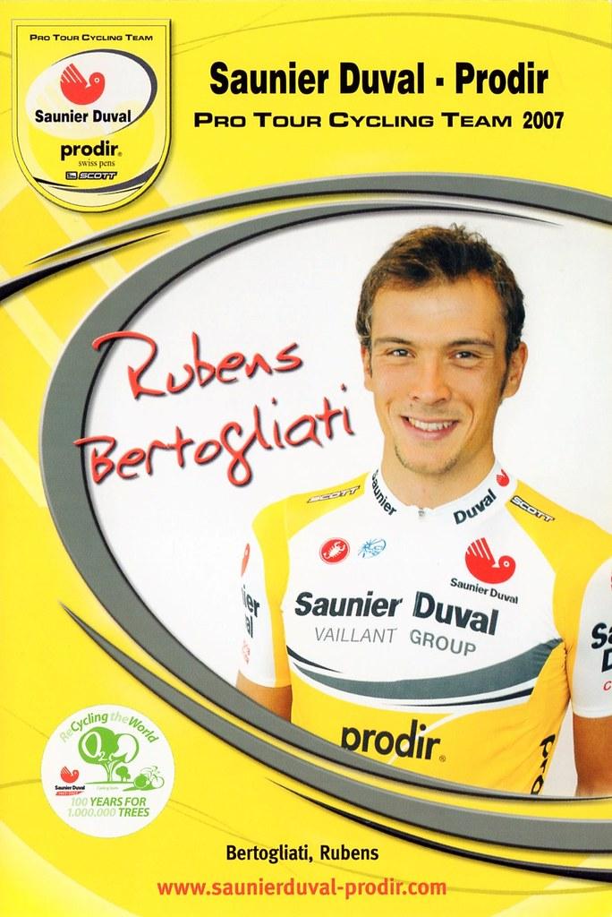 Rubens Bertogliati - Saunier Duval Prodir 2007