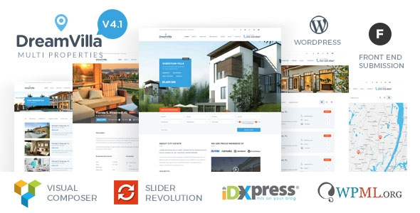 DreamVilla v4.1 - Real Estate WordPress Theme