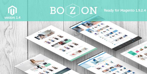 Bozon v1.4 – Multipurpose Responsive Magento Theme