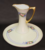 Haviland Limoges Edwardian Era Hand Painted Pitcher and Tray by babyfella2007