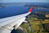 Norwegian Air Shuttle Boeing 737-800 Window View by prahatravel