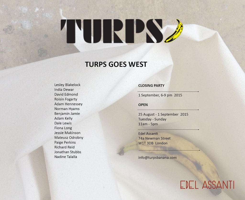 Turps Goes West