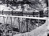 Possibly the Adelaide Express to Melbourne crossing the viaducts? [n.d.]