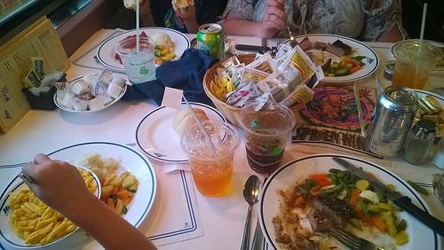 food dinner amtrak diningcar