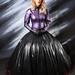 Tgirl Latex Ballgown by sabrinamueller789