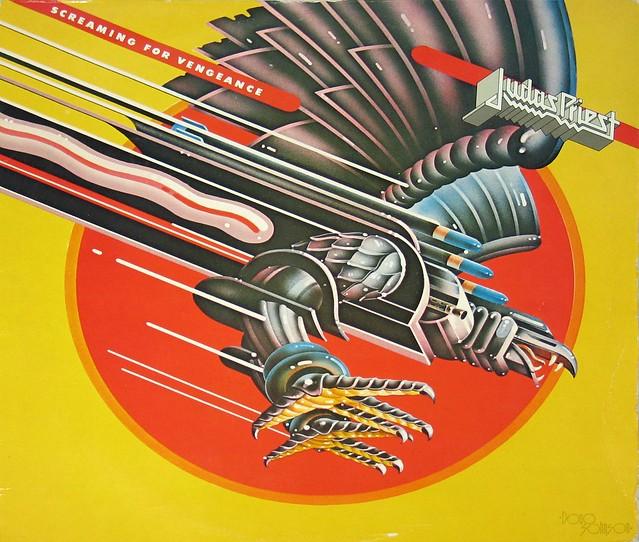 "JUDAS PRIEST SCREAMING FOR VENGEANCE 12"" Vinyl LP"