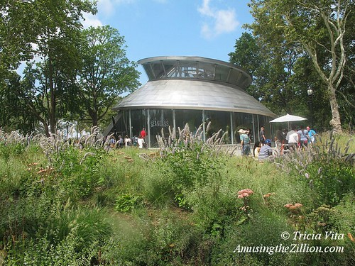 Battery Park S Seaglass Carousel Goes For Its First Spin