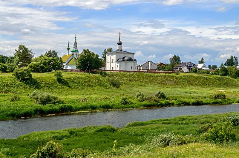 Archdeacon Stephen's Church and Church of Boris and Gleb, Kideksha, Suzdal region, Vladimir Oblast, Russia