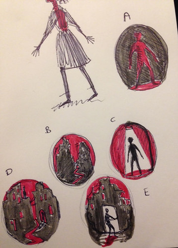 Bloodlines - thumbnail sketches