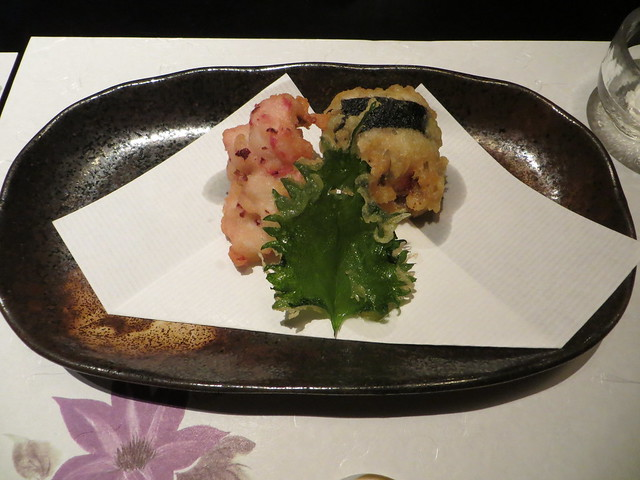 Photo:Conger eel and mentaiko tempura By Joel Abroad