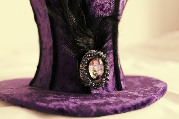 steampunk hat via lovebirds vintage