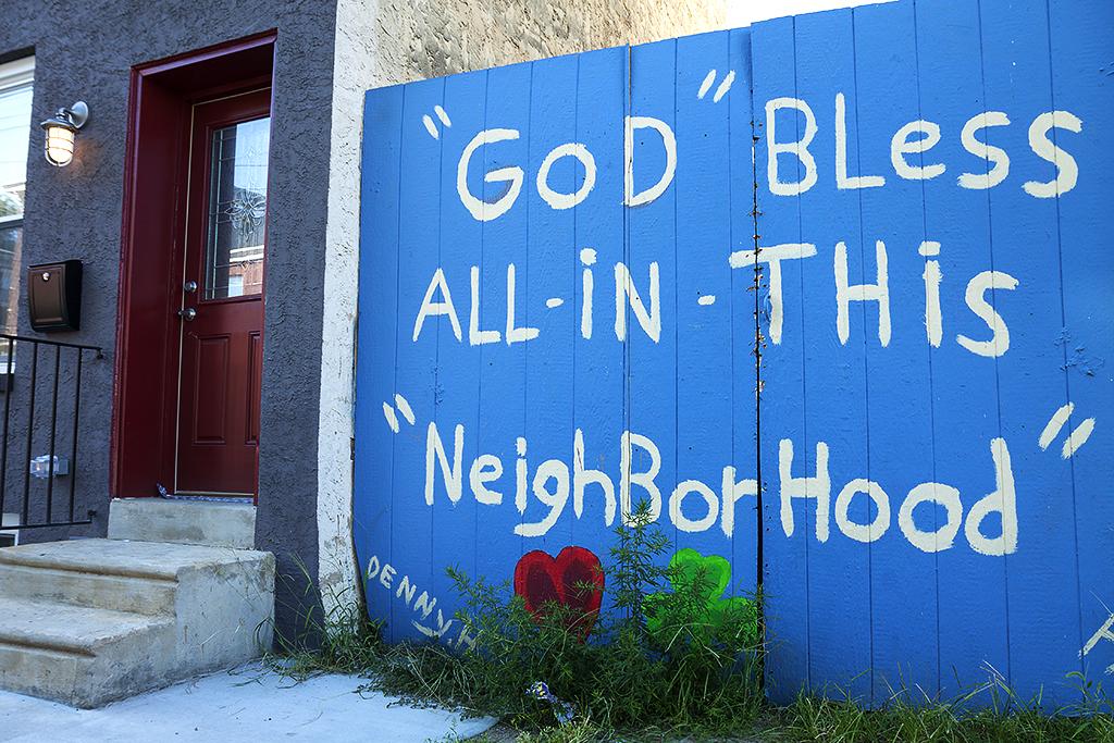 GOD BLESS ALL IN THIS NEIGHBORHOOD--Kensington