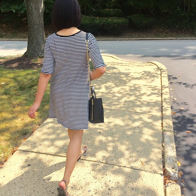 Old Navy Girls Striped Swing Dress, size XL