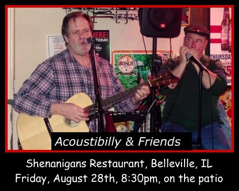Acoustibilly & Friends 8-28-15