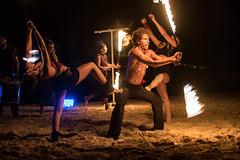 Fire Dancing at Dreams Puerto Aventuras