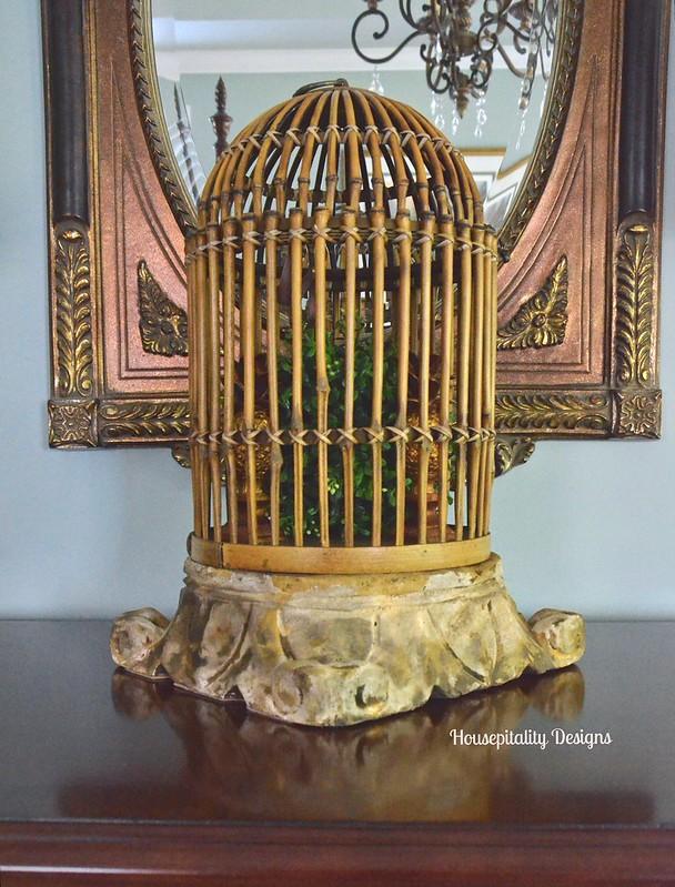 Bamboo Birdcage - Housepitality Designs