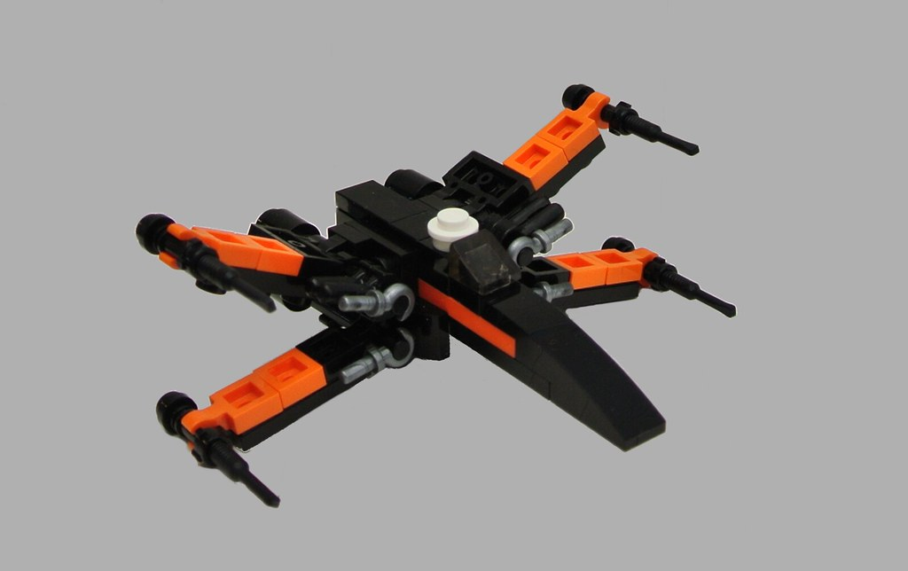 Poe's X-wing - micro version