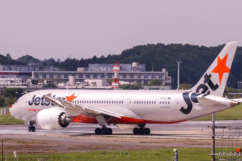VH-VKG Boeing 787-8 Dreamliner Jetstar Airways