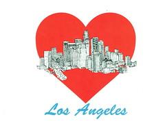 Love L.A., Art by Tom Lamb