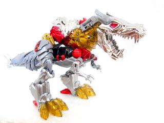Grimlock dinosaur mode