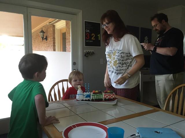 Sam's Second Birthday