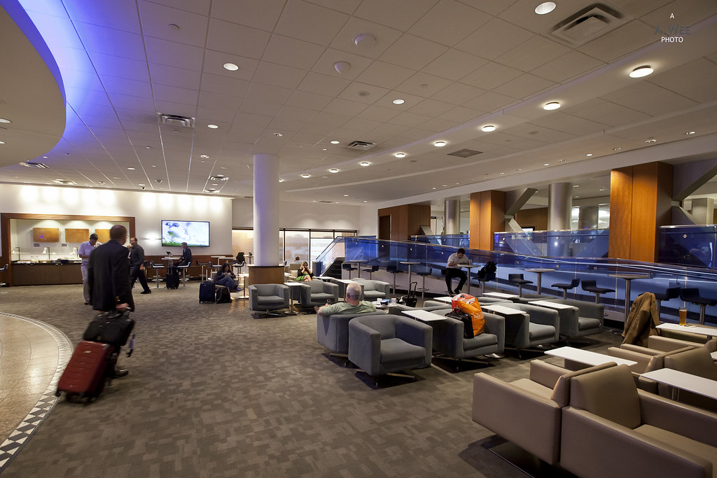 Interior of the Sky Club
