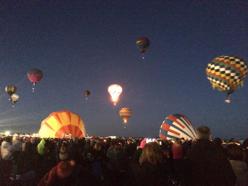 Albuquerque - Balloon Fiesta - LBT 2014