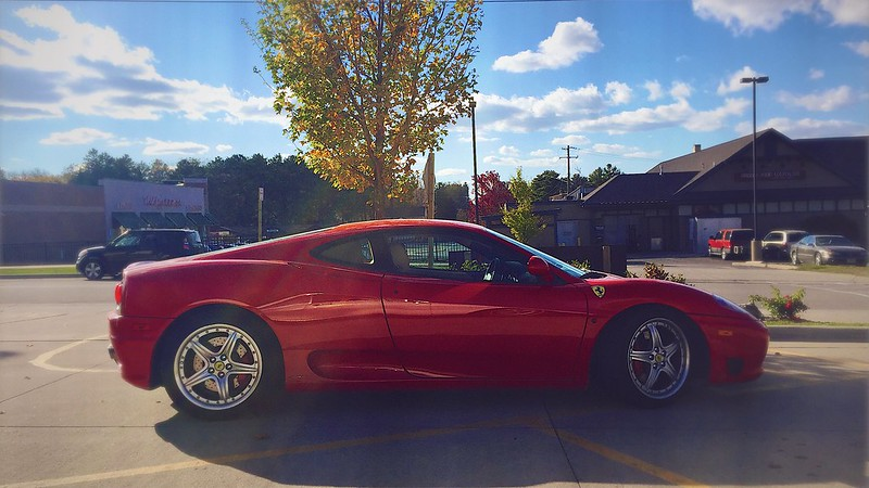 this guy took a photo of a ferrari from a galaxy 500 and you won't believe what happened next. I.