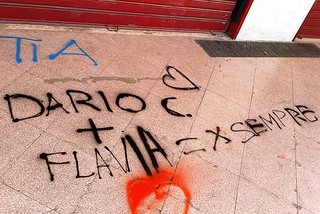Noicattaro. Vandalismo via P. Nenni front