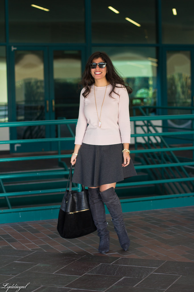 pink sweater, grey skirt, over the knee boots-4.jpg