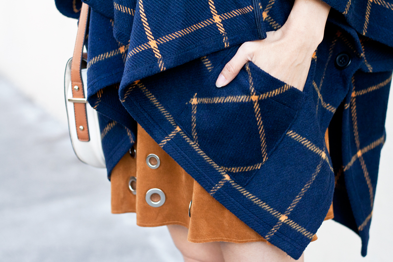 02-plaid-poncho-suede-grommet-skirt
