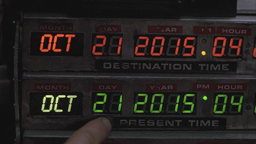 "Happy ""Back To The Future Day!"""