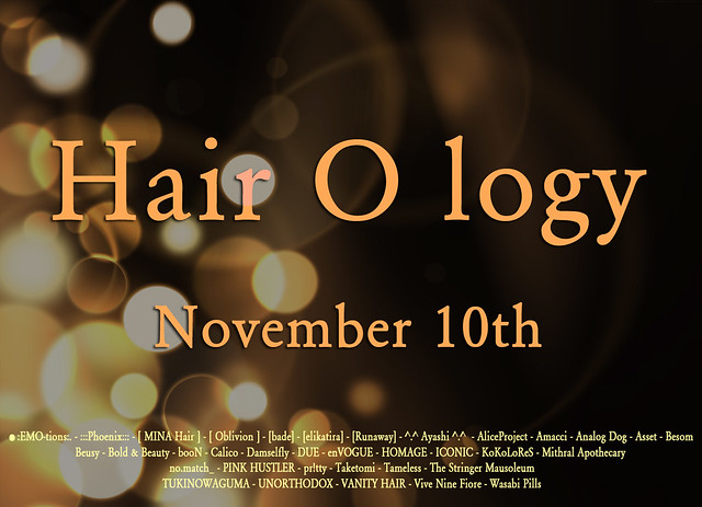 Hairology : Countdown begins