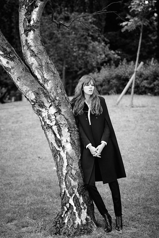 Фрея Беха Эриксен — Фотосессия для «W» 2015 – 7