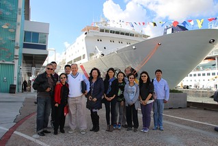 November 04 '15 CISDSU Visits Ark Peace Ship