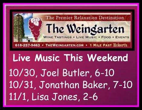 The Weingarten 10-30 thru 11-1-15