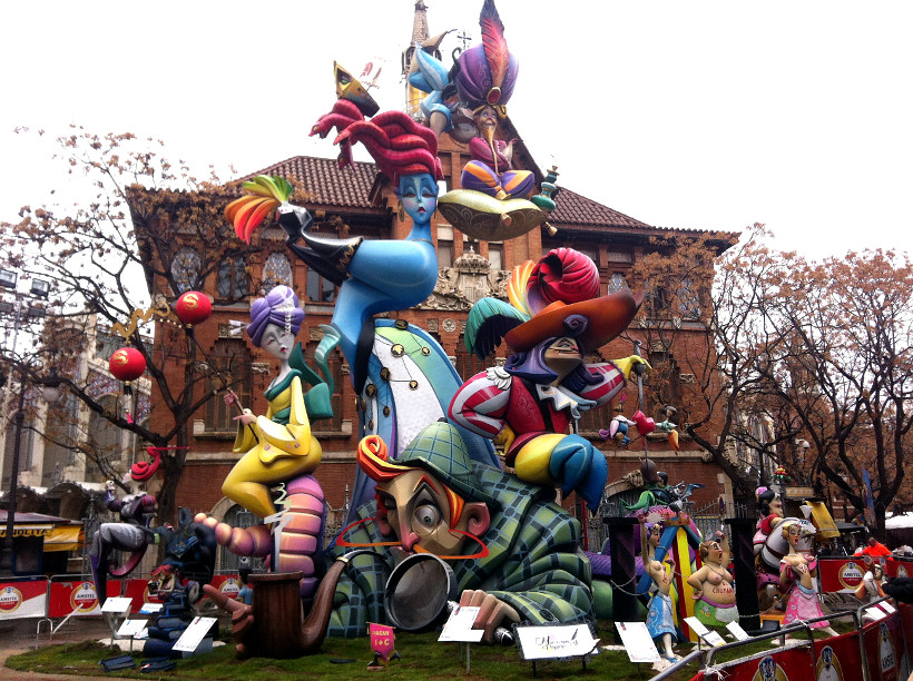 Fallas Fiesta Valencia14