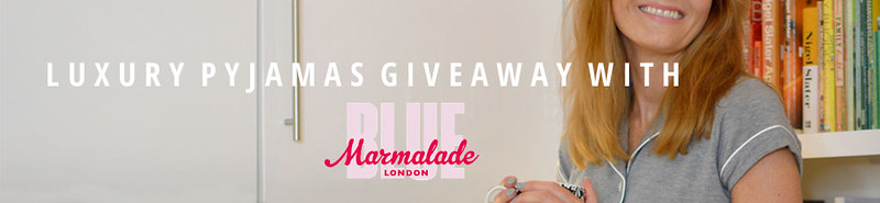 Blue Marmalade pyjamas giveaway