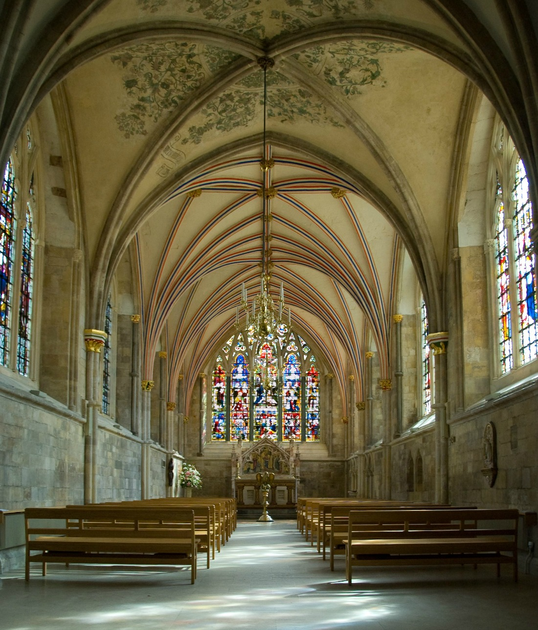 Chichester Cathedral - The Lady Chapel. Credit: Richard Gillin