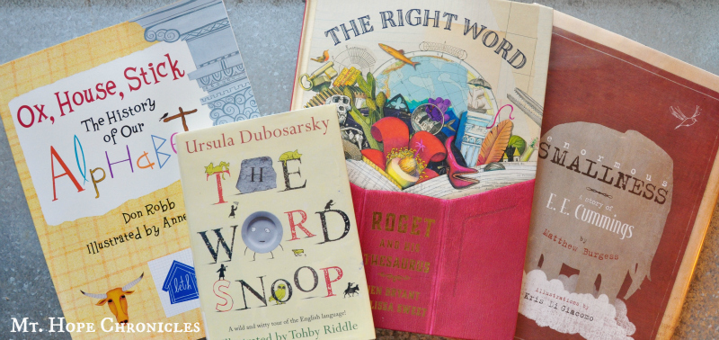 Books for Word Lovers @ Mt. Hope Chronicles