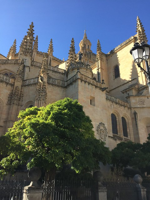 The Cathedral of Segovia, Spain