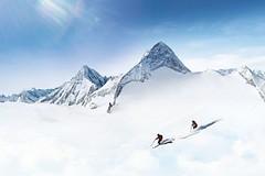 Vyhlášení soutěže Poznej a vyhraj: jeden z tyrolských ledovců